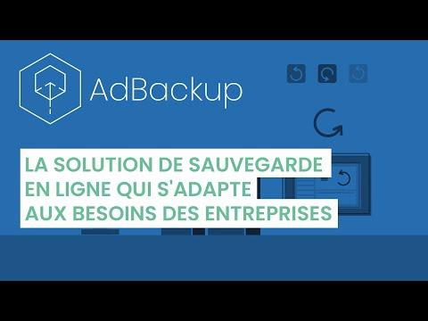 AdBackup - La solution de sauvegarde en ligne qui s'adapte aux besoins des entreprises
