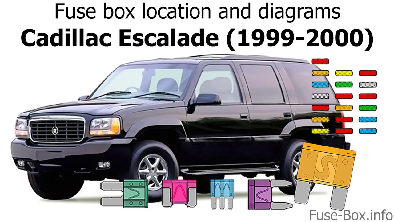 medium resolution of fuse box location and diagrams cadillac escalade 1999 2000 youtube 1999 cadillac escalade fuse box 1999 cadillac escalade fuse box