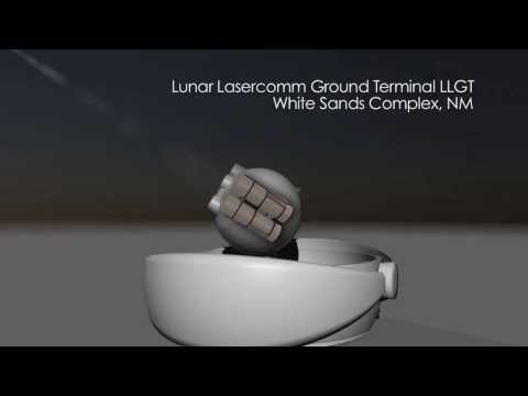 Laser Used To Communicate With Spacecraft Orbiting The Moon | NASA Space Science HD