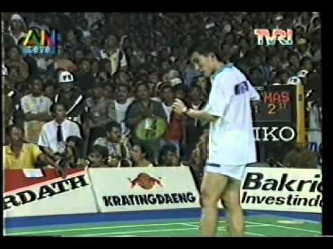 Final Thomas Cup di Jakarta (Indonesia VS Malaysia) @ ANteve/TVRI 21 Mei 1994 (Part 7)