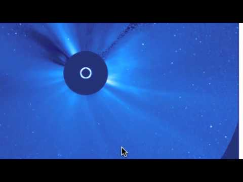 Not Elenin Nibiru comet sun Explosion  john gorman