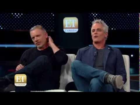Paul Gross And Callum Keith Rennie On ET Canada (Part2)
