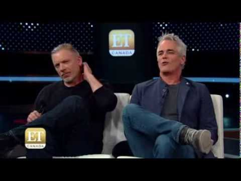 Paul Gross And Callum Keith Rennie On ET Canada Part2