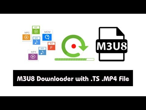 Download File .m3u8 File Streaming With .TS .Mp4 File!