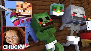 Monster School : BABY VS CHUCKY CHALLENGE - Minecraft Animation