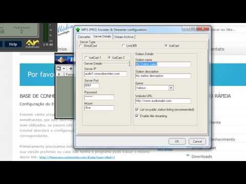 Configuração Encoder MP3