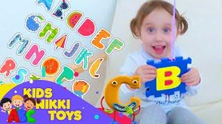 ABC Song with Nikki + More Nursery Rhymes & Kids Songs   Kids Nikki Toys