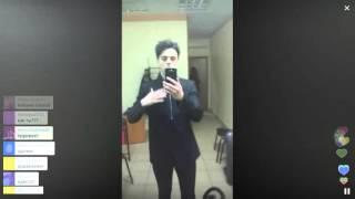 Никита Алексеев в гриммёрке на BigLoveShow / Перископ LoveRadio 2016 на TopPeriscope.Ru