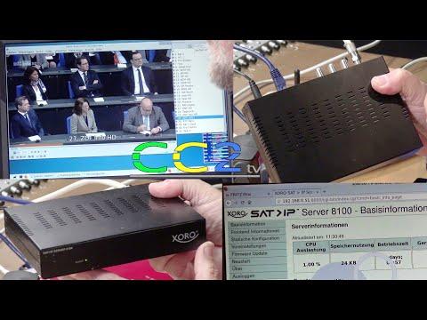 Sat-TV im WLAN und im LAN