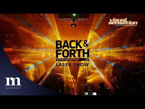 Back & Forth 3.0 | 4K | Full Laser Show by Visual Sensation | 14.10.2017