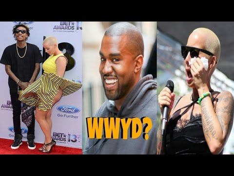 Wiz Khalifa Rejects Amber Rose Booty Call: Is There A Double Standard On ThreeSome's? - DocHicksTv - 동영상