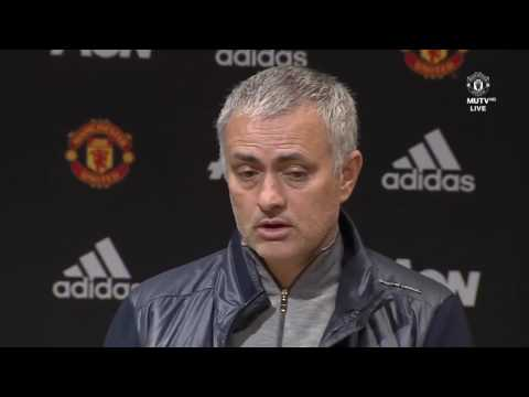 WE STOPPED TRAINING PENALTIES   Jose Mourinho's Press Conference   Manchester United 1 1 Bournemouth