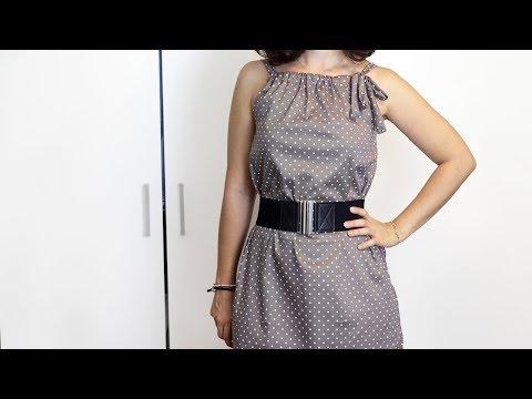 buy online a82a2 69fb0 Cucire un vestito estivo senza cartamodello | Cucito per ...