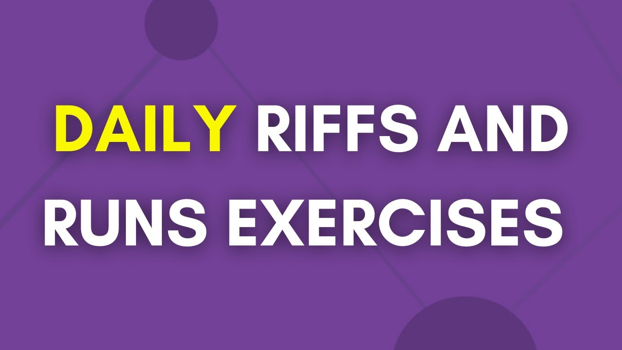 Download Daily Riffs And Runs Exercises (Beginner)