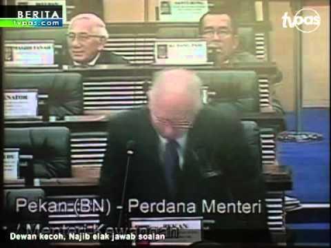 Dewan kecoh, Najib elak jawab soalan SBPA