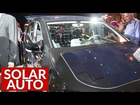Solar Auto Aus Deutschland - Sion Von Sono Motors | Elektrisiert