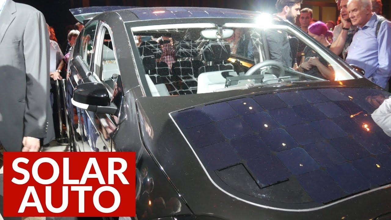 solar auto aus deutschland sion von sono motors youtube. Black Bedroom Furniture Sets. Home Design Ideas