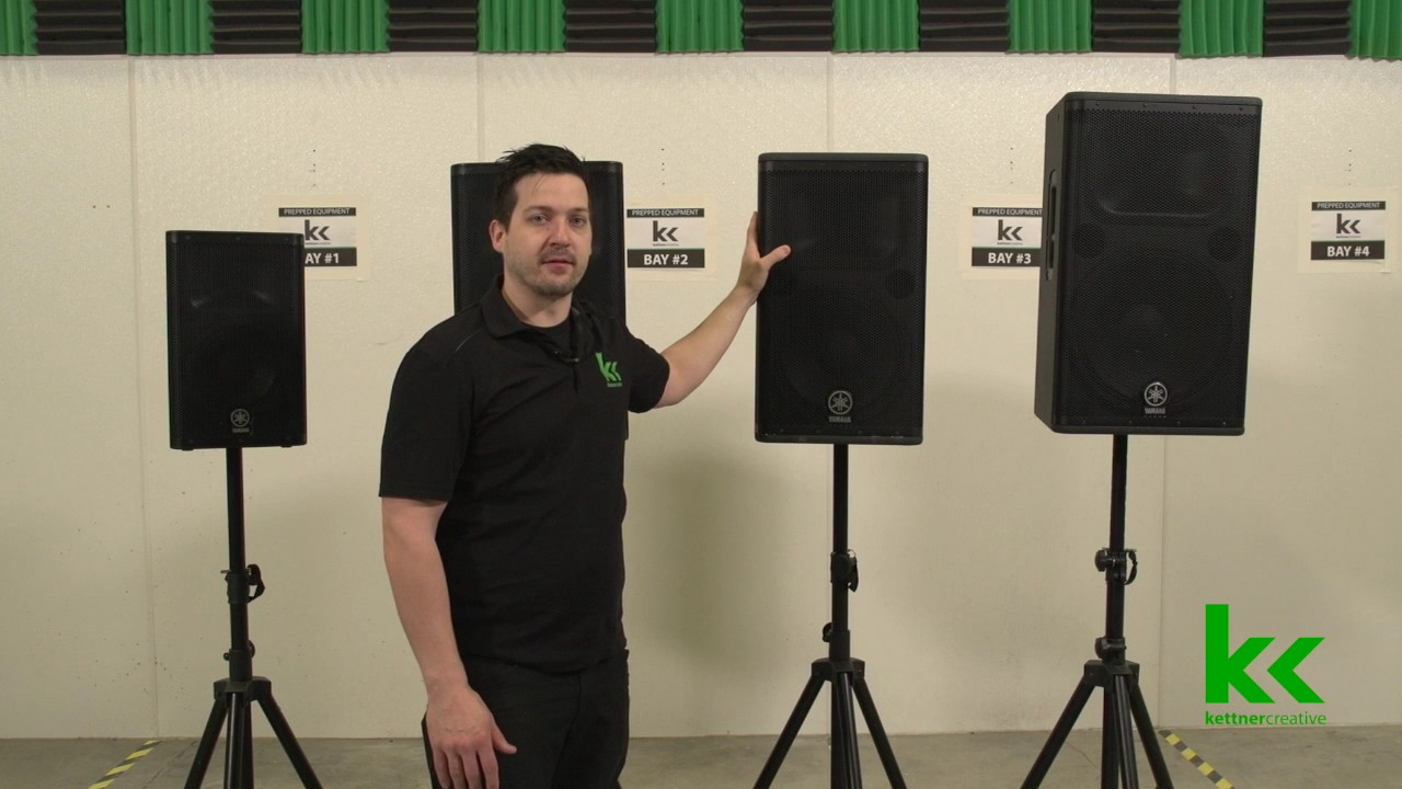 How To Select The Right Speaker For Your Event (Yamaha DXR, DSR)
