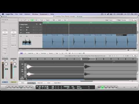 Sample Chopping and Time Stretching in Logic Pro