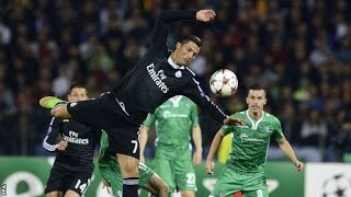 Video Gol Pertandingan Ludogorets vs Real Madrid