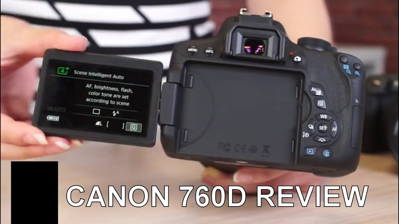 Canon Eos 760d Rebel T6s Review Youtube Kit Ef S 18 135mm F 35 56 Is Stm Wifi