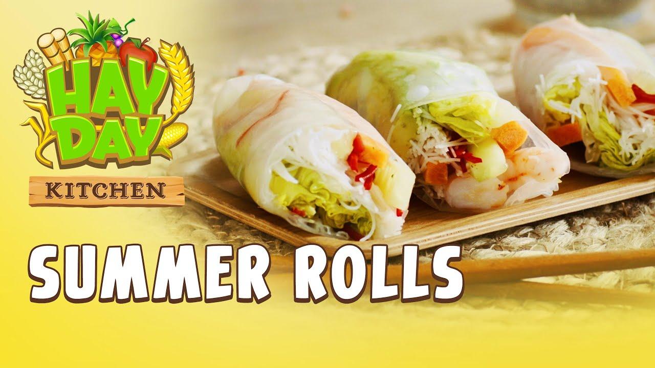 Hay Day Kitchen - Summer Rolls