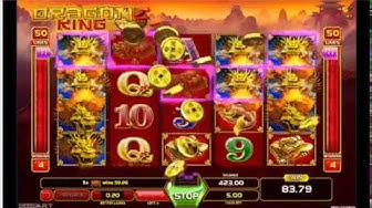 DRAGON KING MEGA WIN Online Slot Machine Live Play