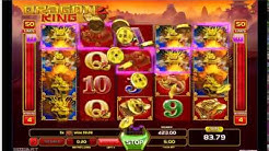DRAGON KING MEGA WIN Online Slot Machine Live Play