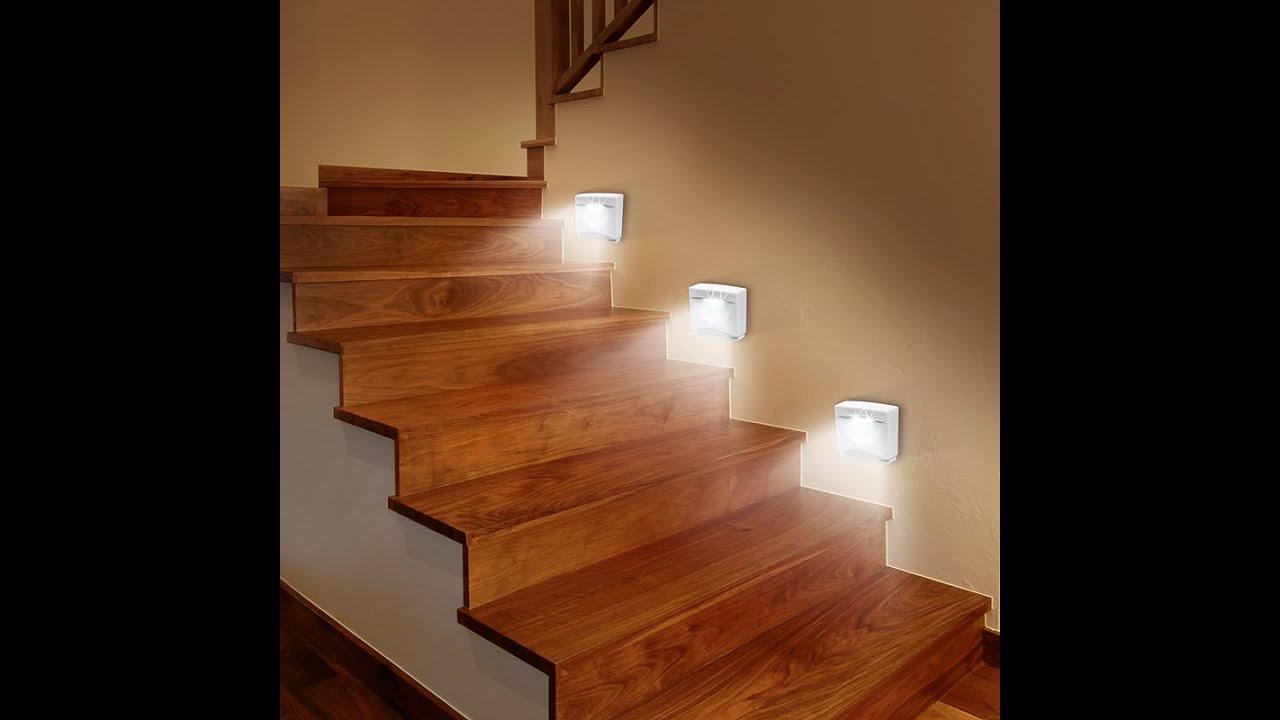Treppen Led Spots Easy Maxx Led Sensorlicht 3er Set 06354 Maxx World De