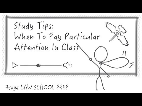 Study Tips: When To Pay Particular Attention In Class - 7Sage School Prep