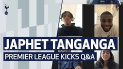 JAPHET TANGANGA Q&A | Dealing with fast players, the pressure of performing and his own school years