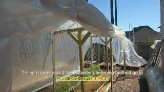 Mittleider Gardening: In-garden Greenhouse, How To Build
