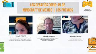 Concurso de Minecraft COVID-19 Anuncio de las ganadoras