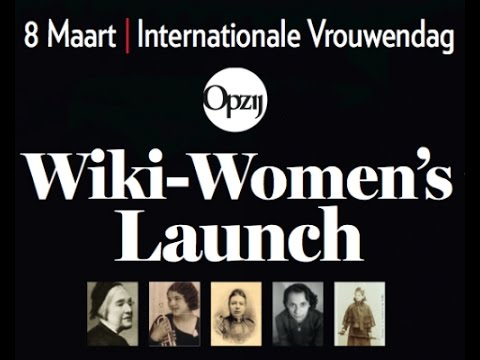 Wiki-Women's Launch