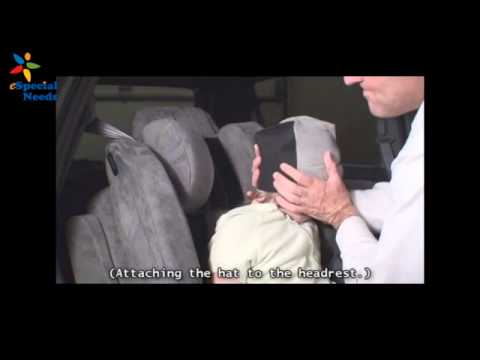 Installing The EZ Up Head Rest On RooseveltTM Car Seat