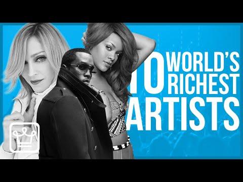Кои се најбогатите изведувачи во светот?