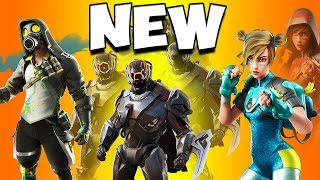NEW LEAKED SKINS COMING TO FORTNITE *UPDATE 10.30*