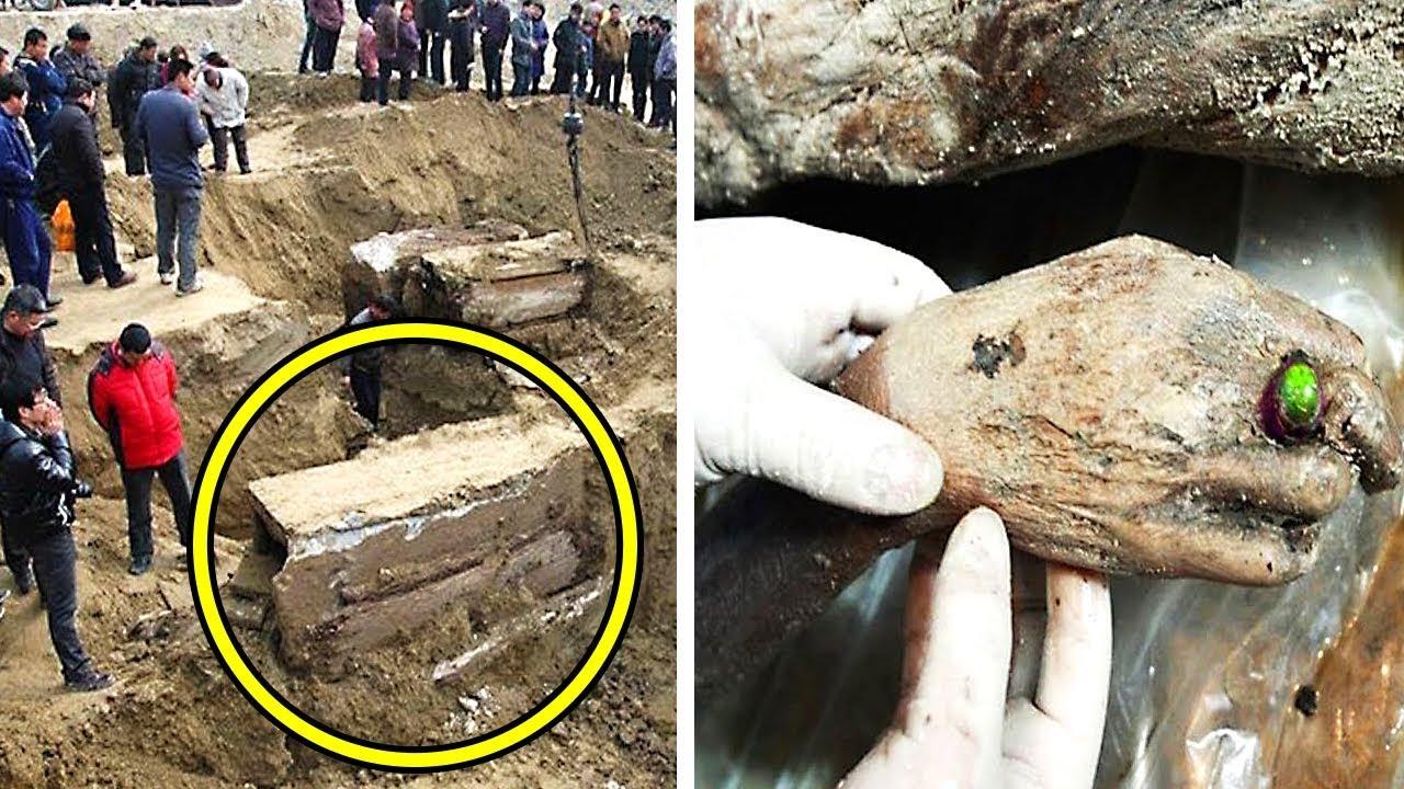 Китайские Работники Выкопали Таинственный Ящик. Вы Удивитесь, Что Было Внутри!