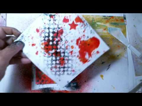 Drop Paper Art I See You!