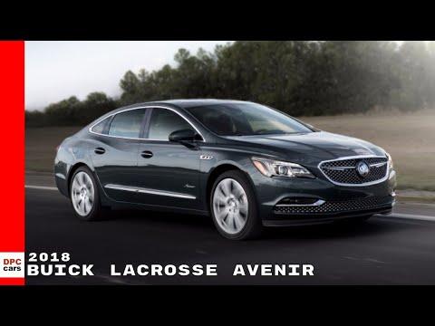 2018 Buick LaCrosse Avenir Exterior & Interior