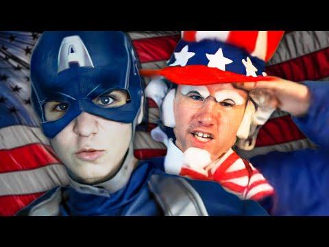 Captain America vs Uncle Sam - Epic Rap Battle Parodies Season 3