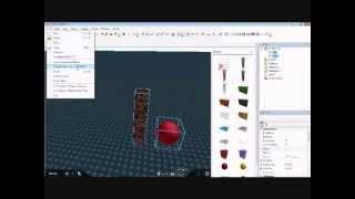 ROBLOX Cómo hacer un modelo