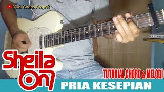 Download lagu TUTORIAL MELODI & INTRO Sheila On7 - Pria Kesepian || Slow Tempo