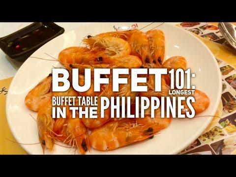 Best Buffets Manila Episode 3: Buffet 101 Longest Buffet Table Philippines by HourPhilippines.com