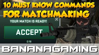 CS:GO - 10 GOOD COMMANDS for matchmaking!