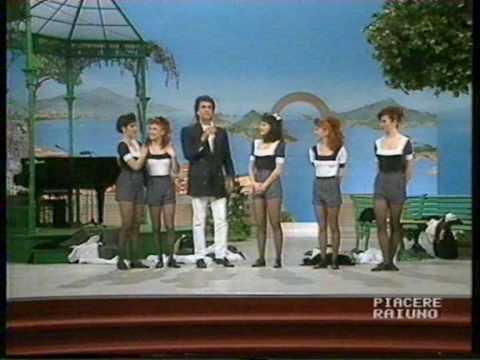 Toto Cutugno: Piacere Raiuno a Napoli 1991