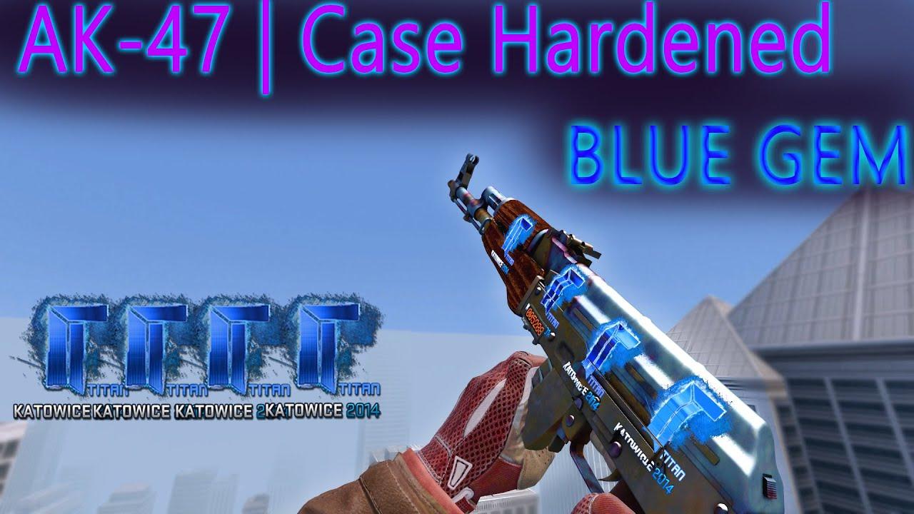 Case Hardened Full Blue