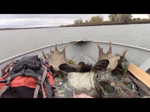 South Saskatchewan River Moose Hunt 2015