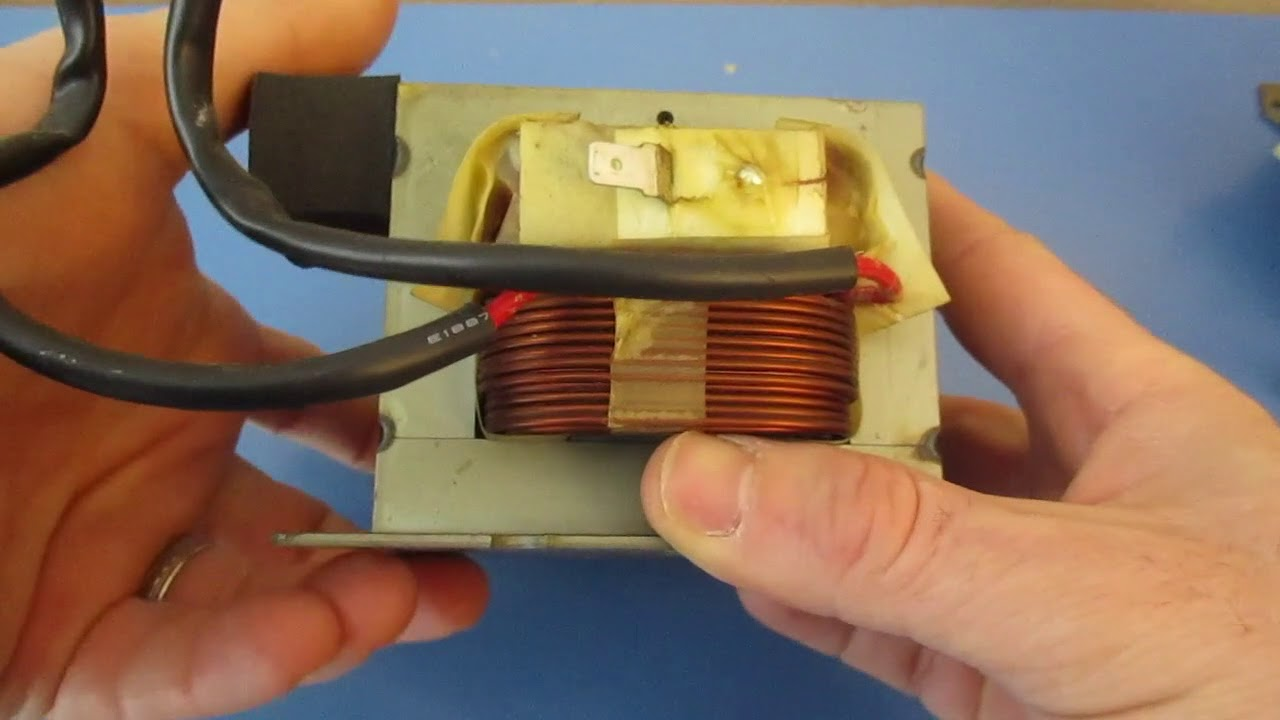 hight resolution of troubleshooting microwave transformer testing primary and secondary with multimeter