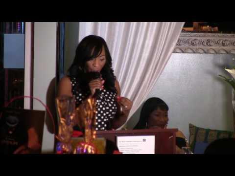 Georgia Woodbine  Keynote speaker African American Chamber Of Commerce